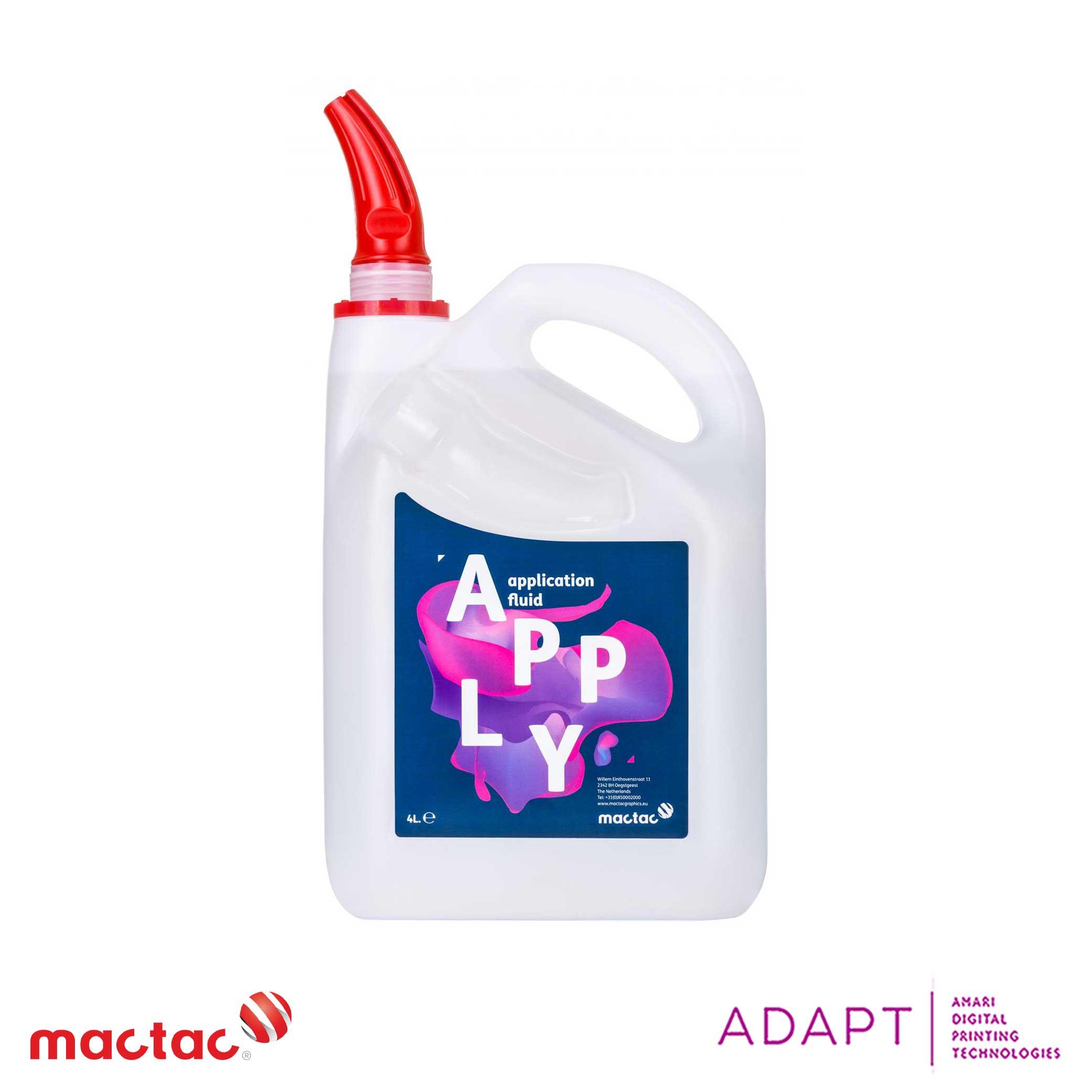 Mactac Cleaners & Application Fluids