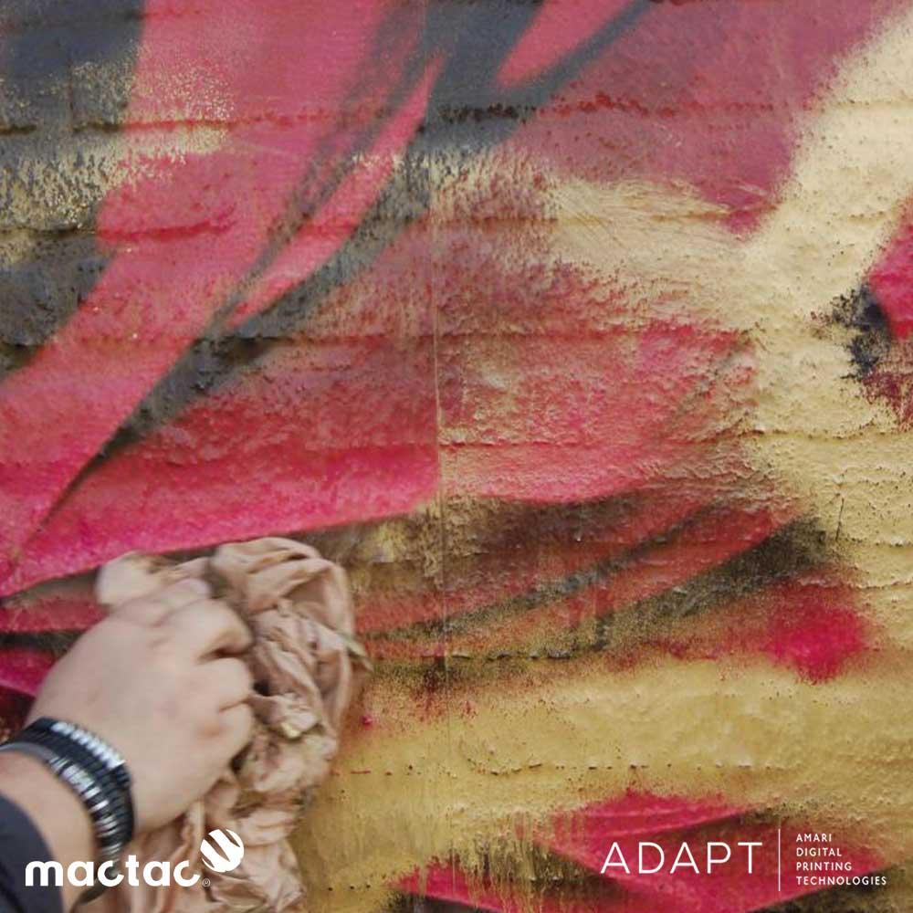 Mactac LAG 100 Anti-Graffiti Film