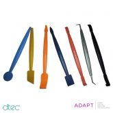 ADAPT Dtec Magnetic Micro Squeegee 7 Piece Set