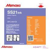 Mimaki SS21 Orange 440ml Solvent Ink