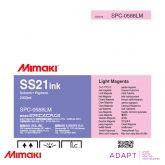 Mimaki SS21 Light Magenta BULK 2 Litre Solvent Ink