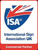 International Sign Association UK - Commercial Partner